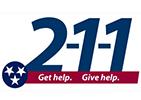 2-1-1 logo